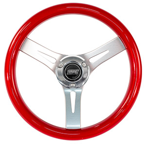 "13-1/2"" Max Papis Corsa Steering Wheel Kit with Hub and Billet Cap"