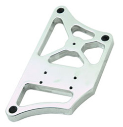 Billet Aluminum Head Mount Coil Bracket, Polished