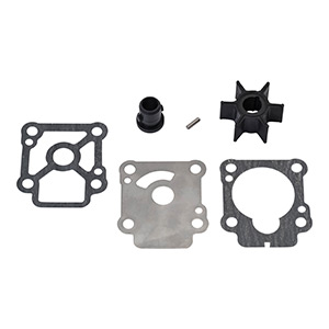 803748Q01 Water Pump Impeller Repair Kit - Mercury and Mariner 8 and 9.9 Horsepower 4-stroke Outboards