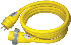 Furrion 30a 50' Cordset, Yellow