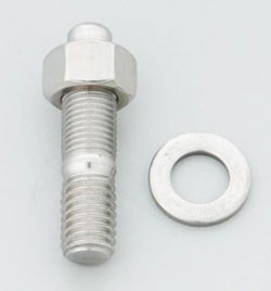 Distributor Stud Kit, Chevy Hex, Stainless 300