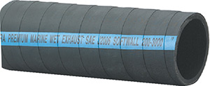 EXHAUST/WATER HOSE WITHOUT WIRE - SERIES 200 (SHIELDS)