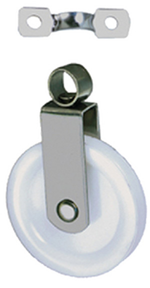 Swivel Pulley w/Strap, 2/Card