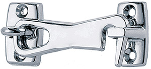 "2-1/2"" Door Hook Chrome Plated Zinc"""
