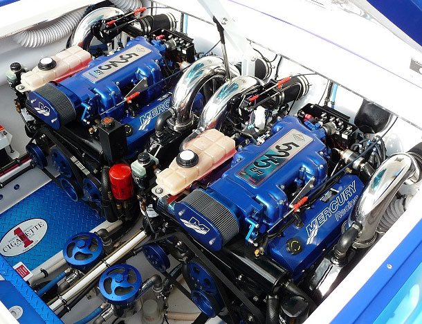 Hardin Marine - Big Block 525 Merc EFI/700 Replacement ...