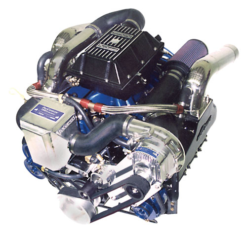 ProCharger Marine M-3 Single Carb Intercooled Kit