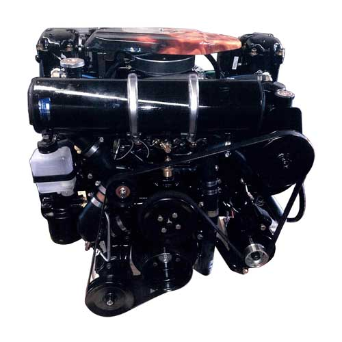 Closed Cooling System, Mercruiser 357 - 357 Magnum - Engines - 2015 Reman,  full system-System