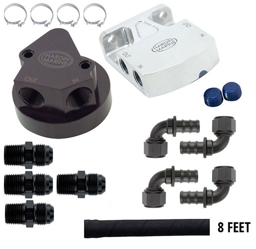 BBC Gen. 4 Oil Filter Relocation Kit - Standard