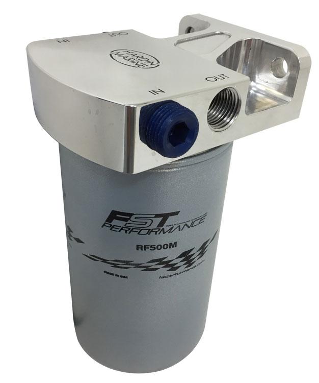 Hardin Marine  Separator W   Fst Filter Head And Bracket