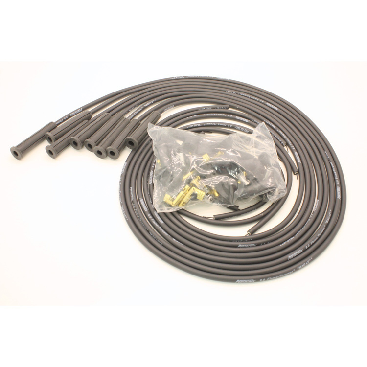 8mm Straight Plug Boot Wire Set
