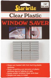 Starbrite Clear Plastic Window Savers (6 Per Pack)
