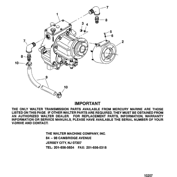 Hardin Marine - Transmission(WALTER V-DRIVE)