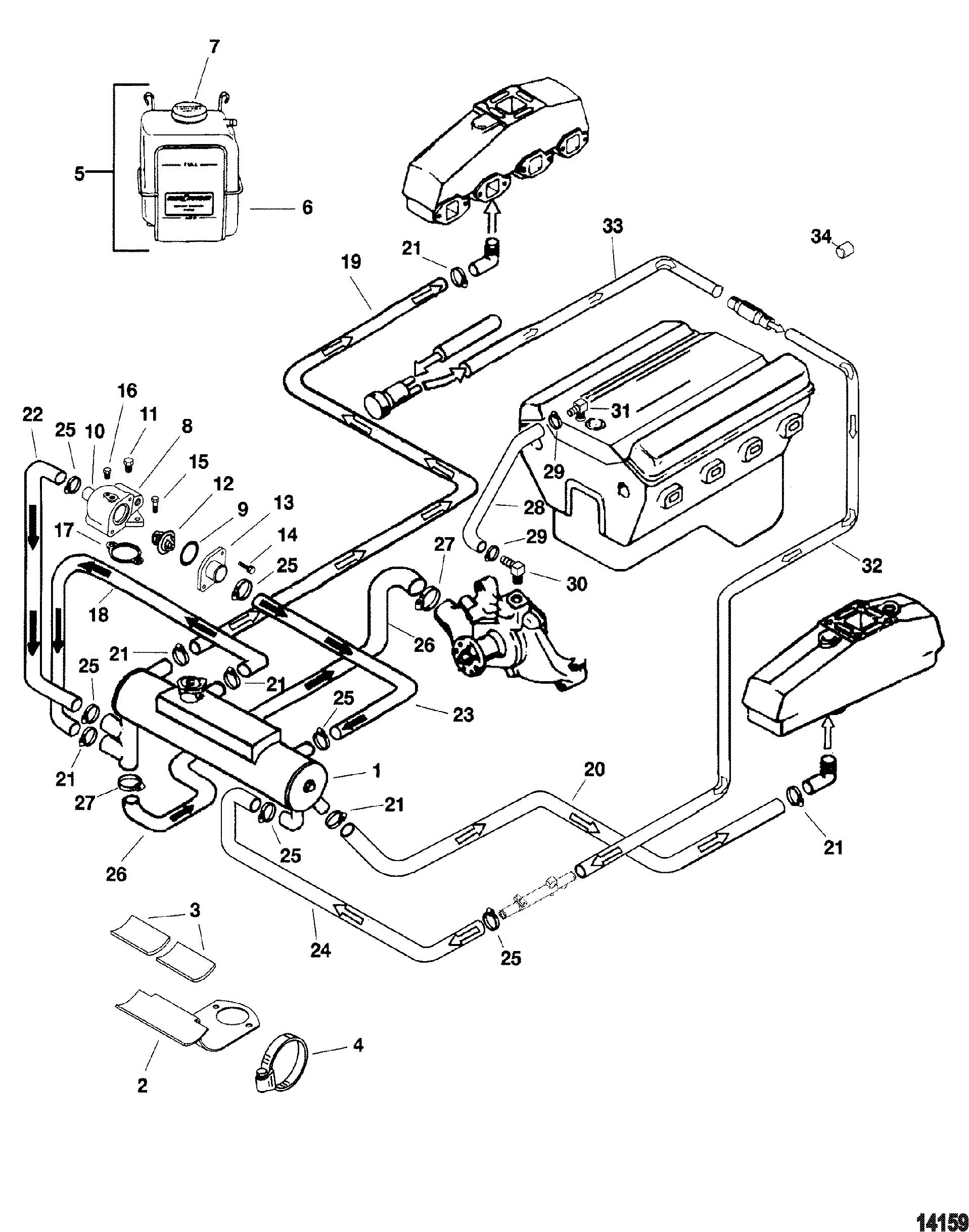 57 Mercruiser Wiring Diagram