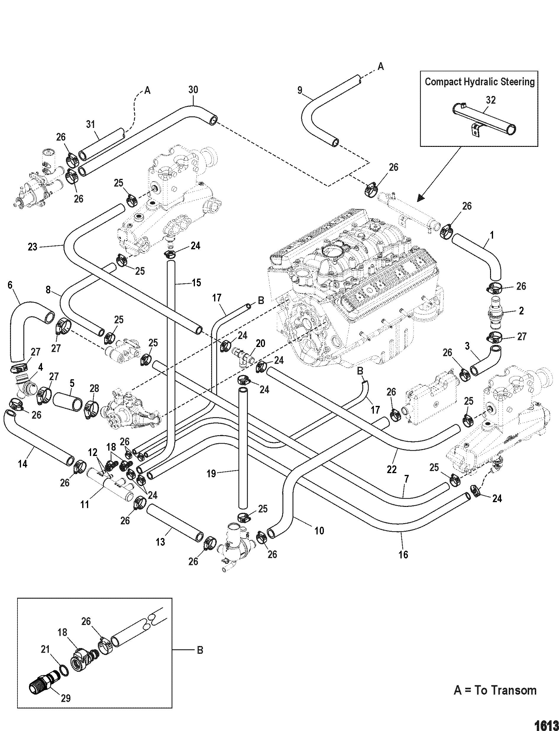 1613 30 mercruiser cooling diagram wiring diagram data oreo