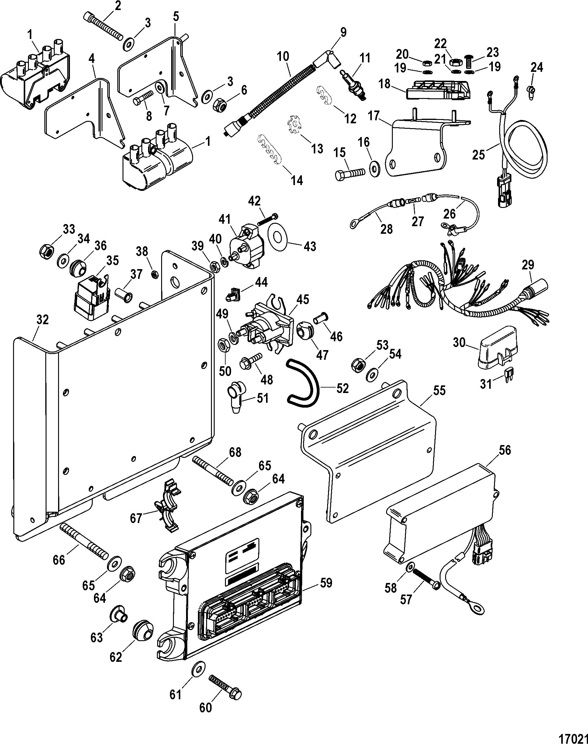 Hardin Marine - Electrical Components (Ignition) on