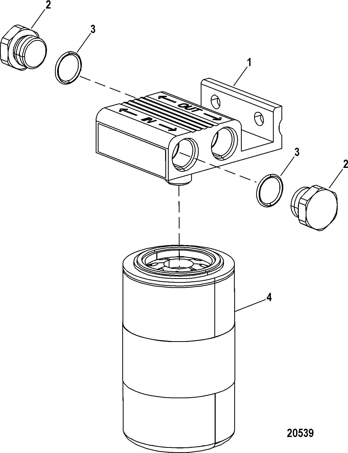 hardin marine - filter kit  remote   water