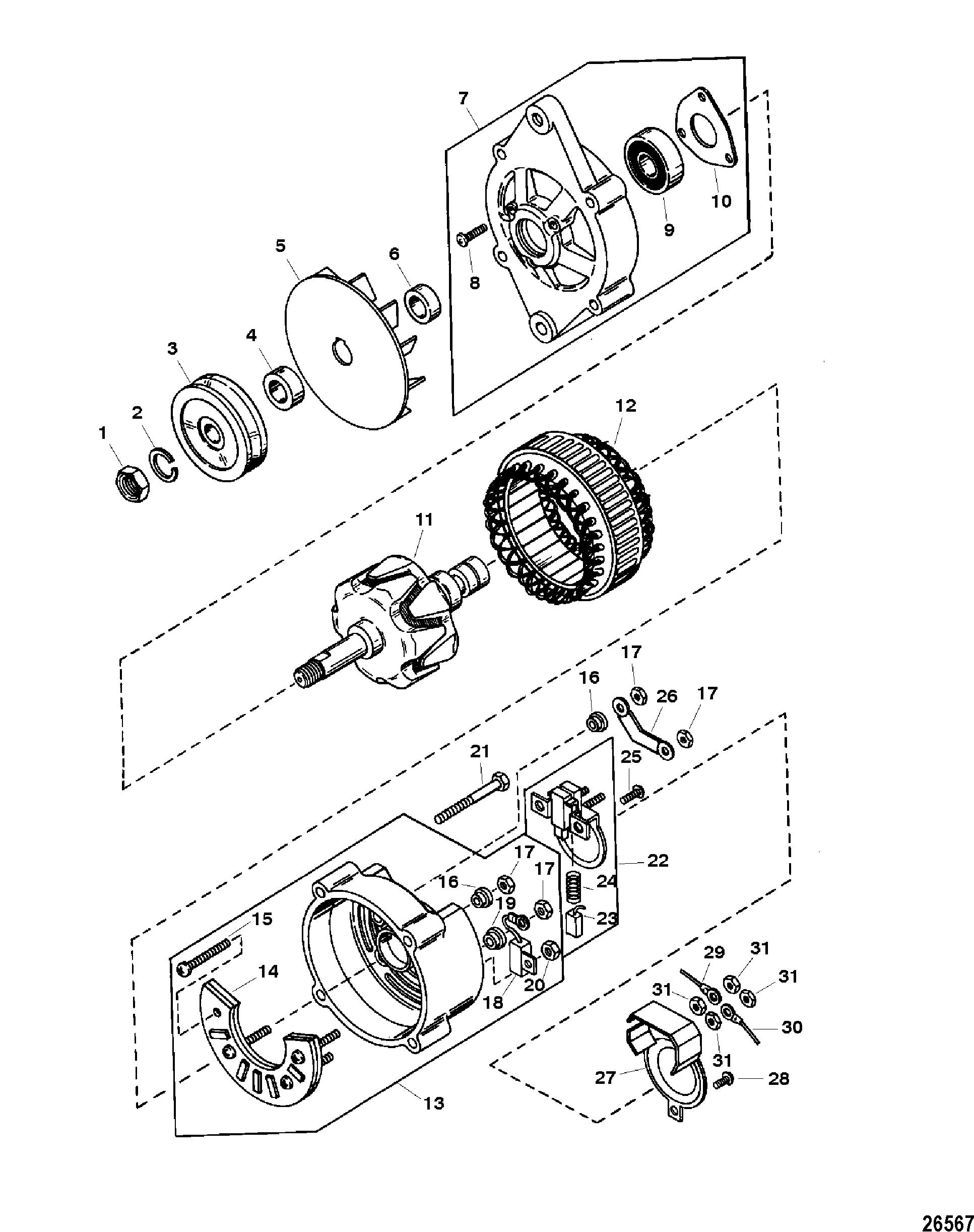 3 wire alternator wiring diagram mando wiring diagram database Marine Alternator Wiring Diagram hardin marine alternator assembly mando ac 155603 volvo penta wiring diagram 3 wire alternator wiring diagram mando