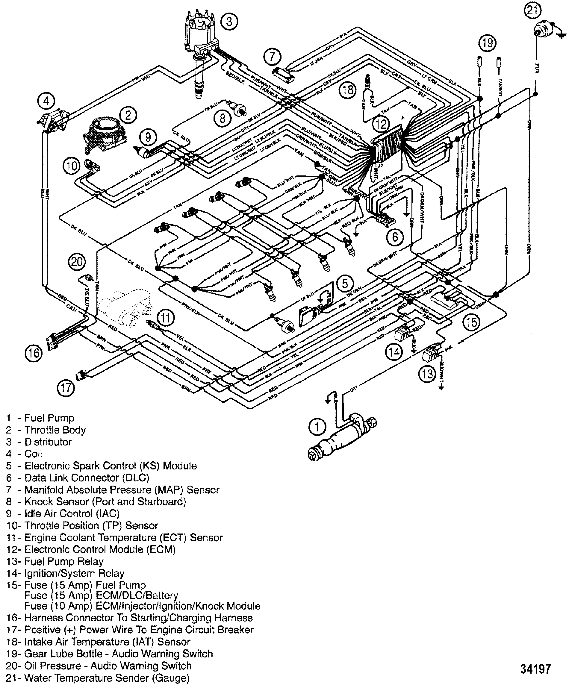 Mercruiser Trim System Wiring Diagram Great Installation Of Electrical Diagrams 1987 350 Ignition Simple Rh 73 Mara Cujas De Power Schematic Sensor