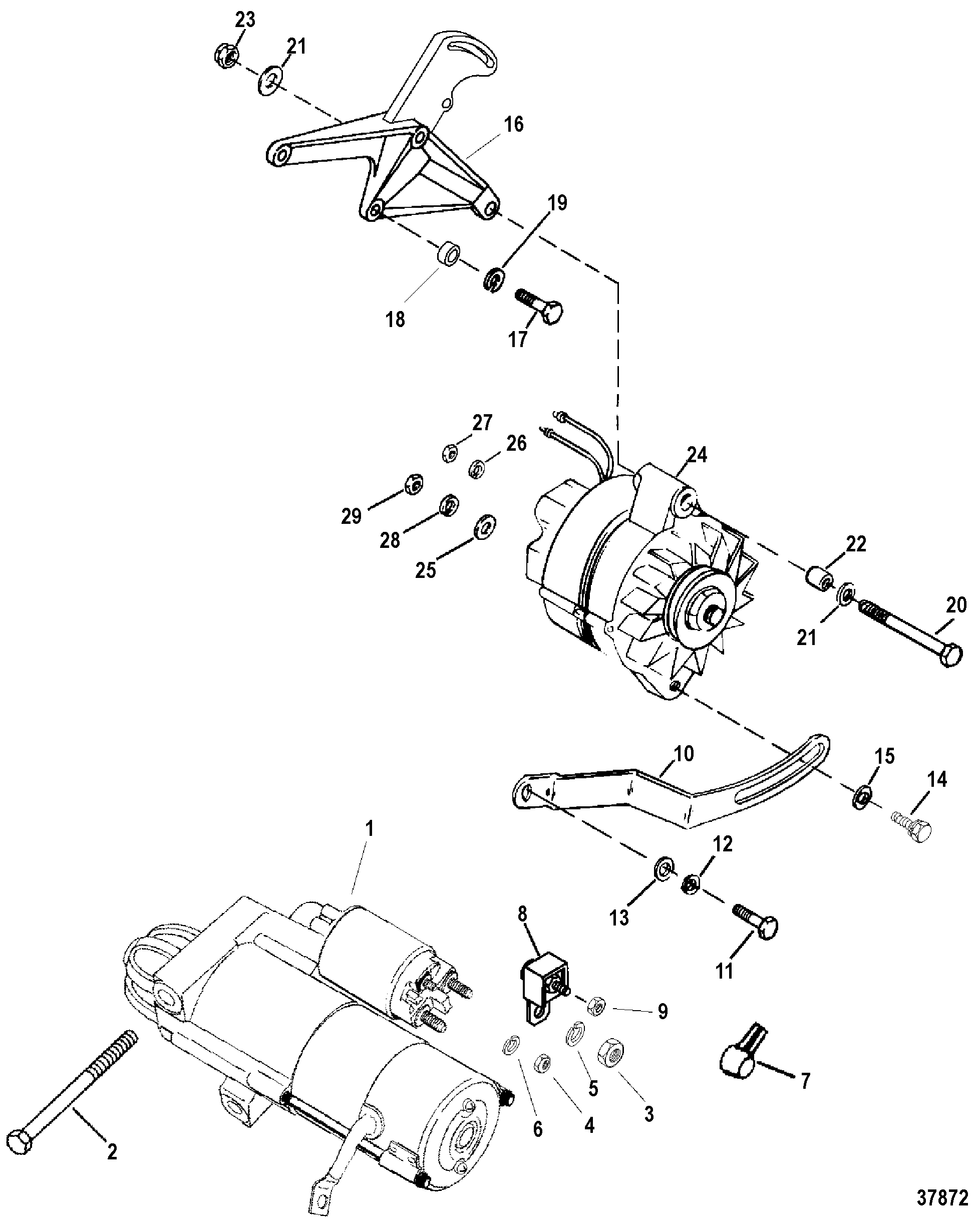 Motorola Marine Alternator N A Wiring Diagram on