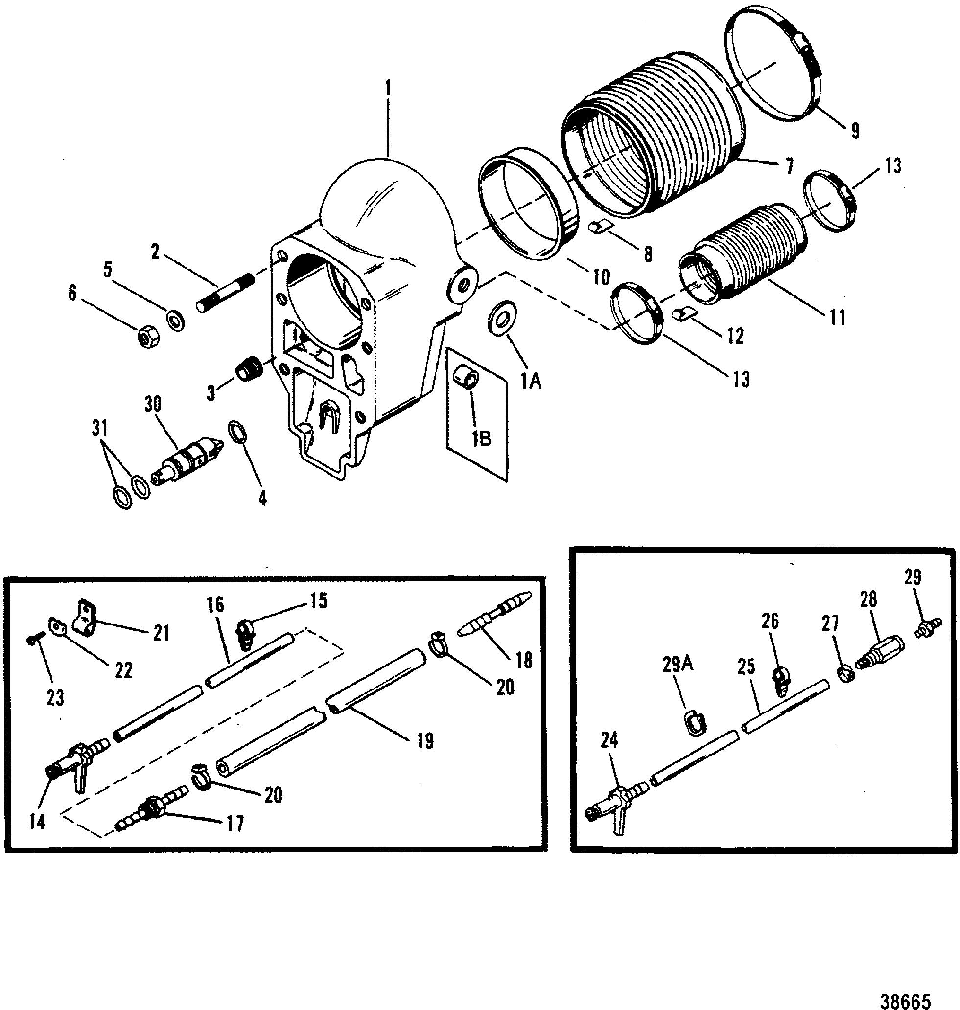 Mercruiser Bravo U-Joint Sleeve 89141 862209