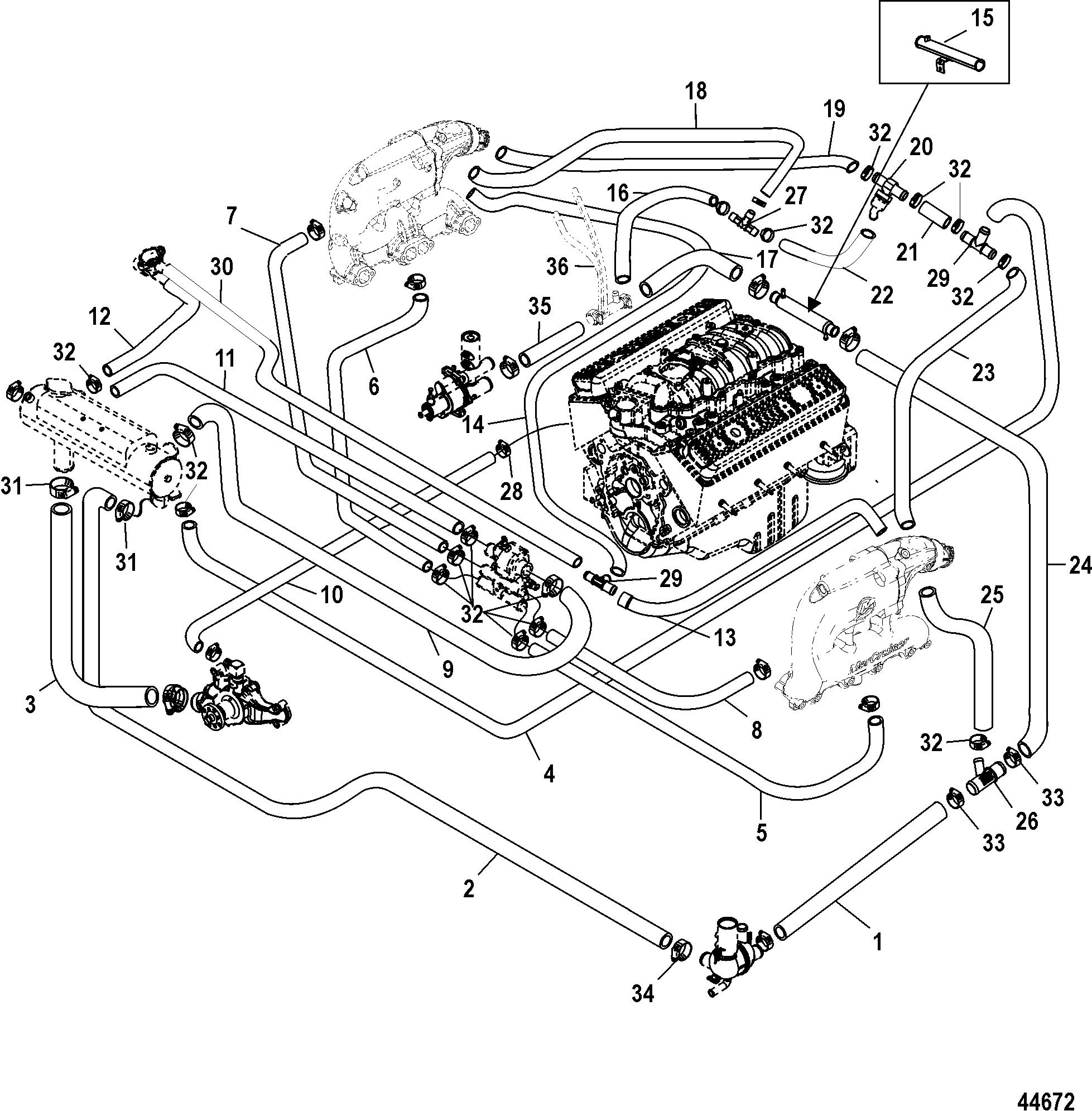 44672 hardin marine closed cooling system (bravo)