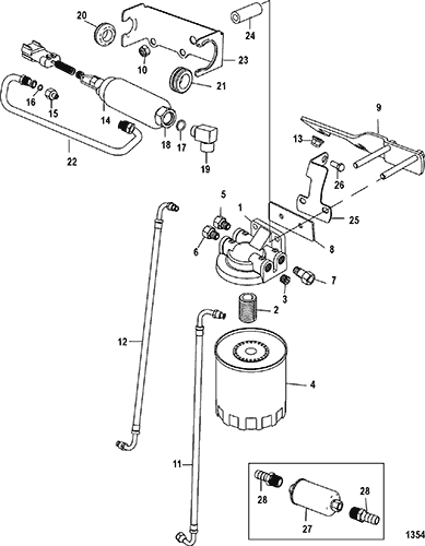 Fuel Pump Fuel Filter