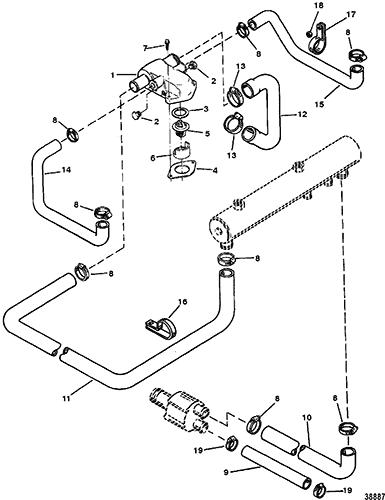 7 4 Liter Mercruiser Engine Diagram