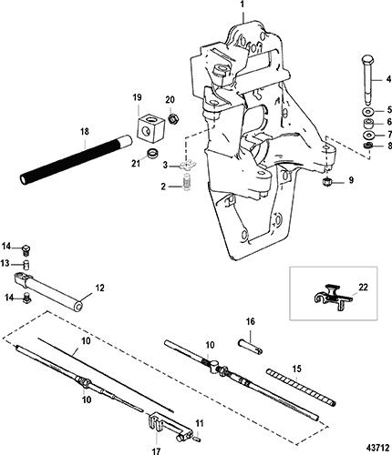 Mercruiser Transom Plate Diagram