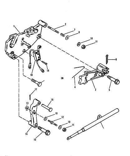 mercruiser alpha one shifter wiring