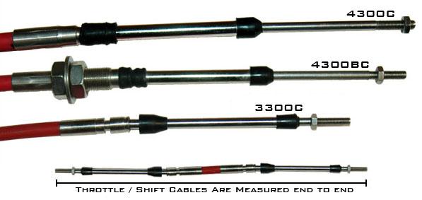Hardin Marine Control Cables