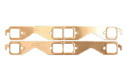 Copperseal Exhaust Manifold Gaskets - Small Block Chevy Square Port