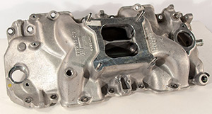 GM Aluminum Intake, Square Port