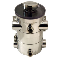 "1-1/4"" NPT HO Swirl-Away High Performance Sea Strainer"