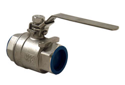"1-1/4"" NPT Stainless Steel Water Shut-Off Valve"