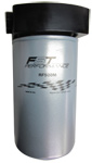 Black Anodized, HP High Volume Fuel Filter/Separator w/ FST Filter and Hardin Head Bracket