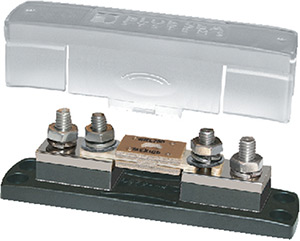 Blue Sea Systems 5503 Anl Fuse Block With Insulating Cover - 35 To 750a