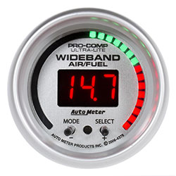 "Autometer Sport-Comp Wideband Air-Fuel 2-1/16"" Gauge"