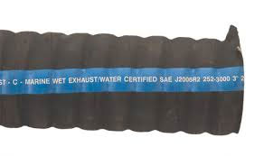 "4"" I.D Marine Water Certified Corrugated Exhaust Hose"