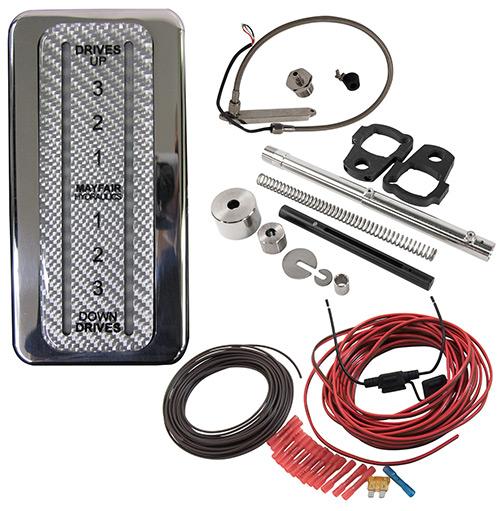 Hardin Marine Led Trim Indicator Kit For Single Mercury