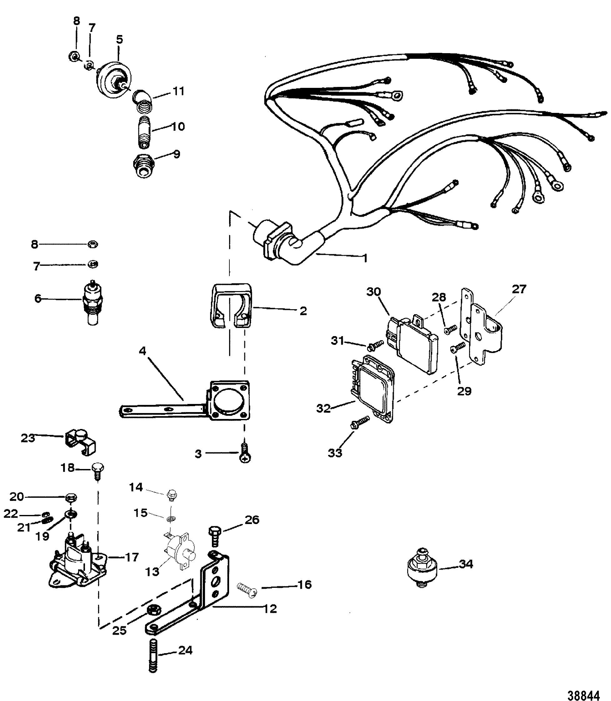 Hardin Marine - Wiring Harness-Electrical (Thunderbolt V Ignition)Hardin Marine