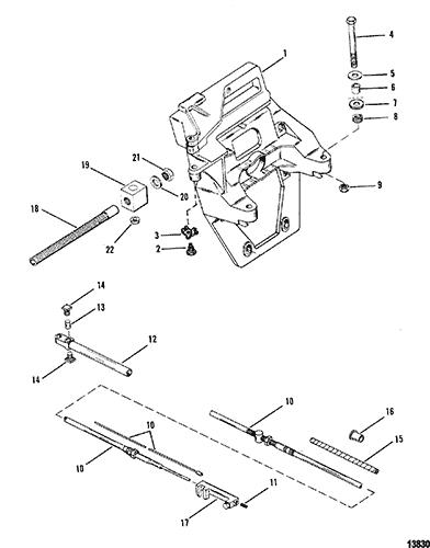34 Mercruiser Alpha One Shift Cable Diagram