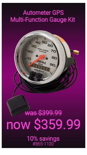 Autometer GPS Speedometers Gauges