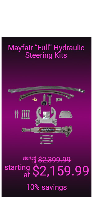 Mayfair Full Hydraulic Steering Kits